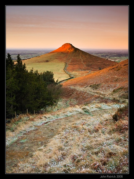 First Light on Roseberry Topping by newfocus