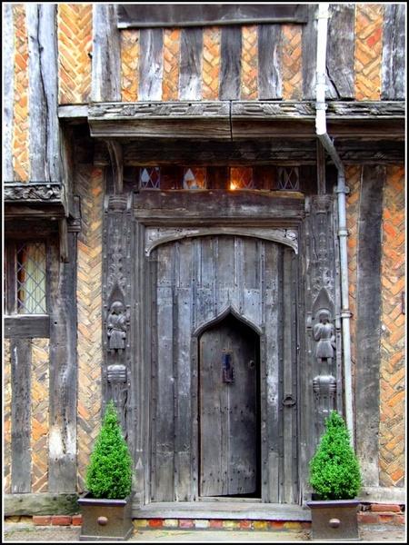 Old doorway by stevieasp