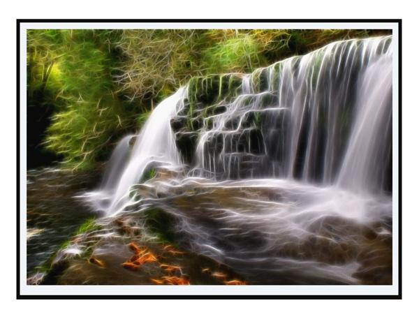 Clun Falls by brianjw