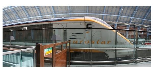 St Pancris Eurostar by jontelling
