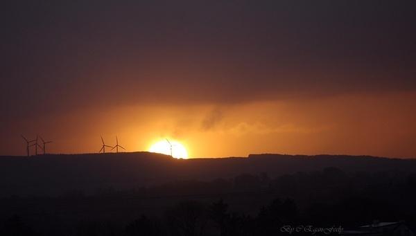 Turbine in the Sun by AoghánArt