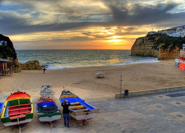 Algarve Sunset by irishman