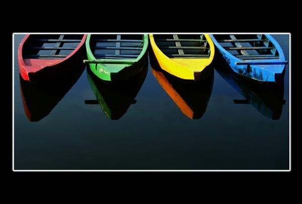 RGYB Boats by ariandino