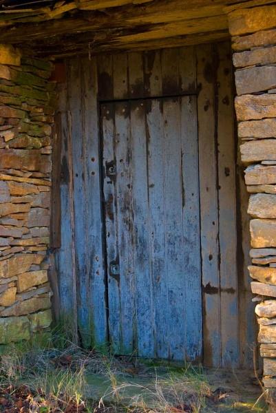 Blue Door by Gaucho