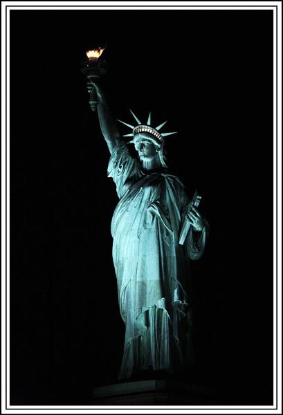 Liberty at Night by Big_D