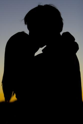 Evening Kiss by kezeka