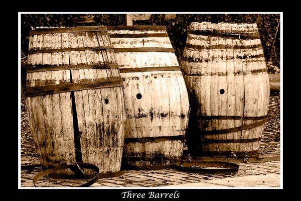 Three Barrels by GaryBooth