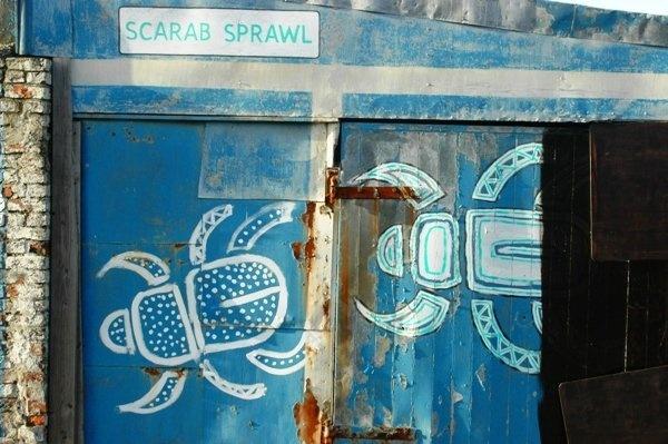 Scarab Scrawl. by Scaramanga