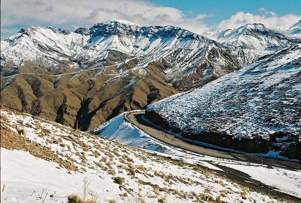 Atlas mountains by Tabaka