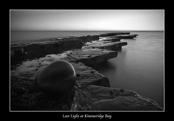 Last Light at Kimmeridge Bay by Matman