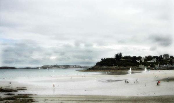 A French beach by Boyoclark