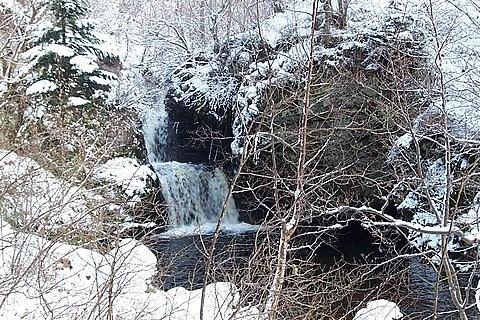 "\""Winter At The Falls\"" by BigKiz"