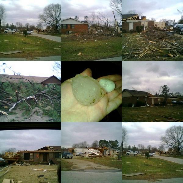Tornado Damage by FlutrByShutrBy