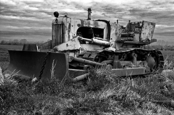 Bulldozer mono by Ratcatcher