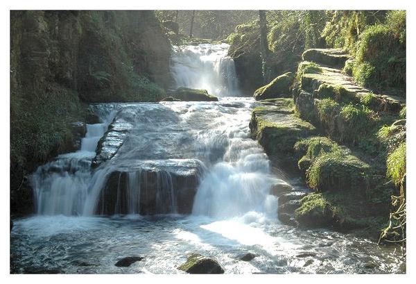 Exmoor Waterfall by Ukulele_Lady