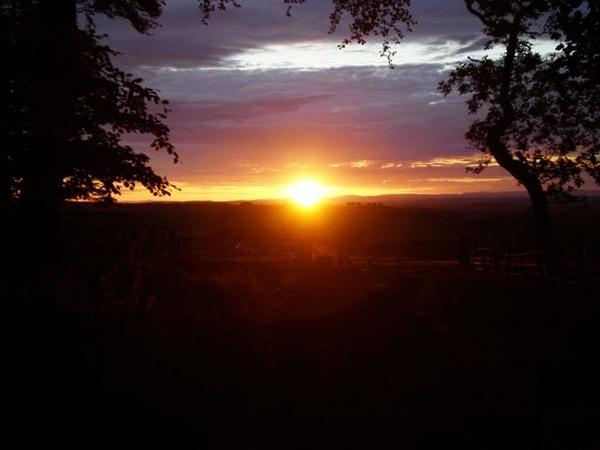 scottish sunset by jennyk