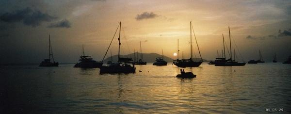 Tortola Sunset by jennyk