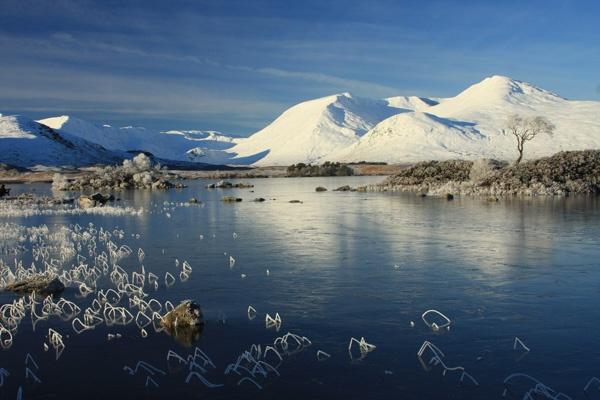 Rannoch, snow by Mikebr