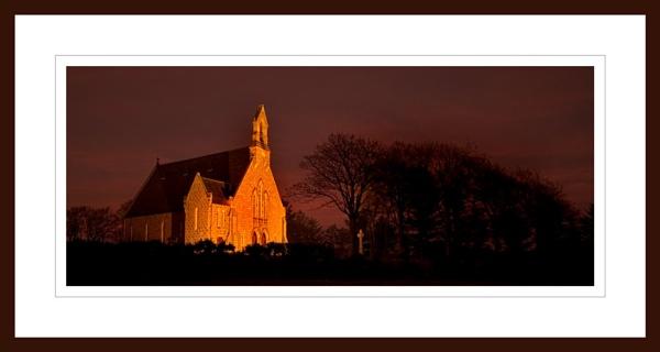 BELHELVIE CHURCH AT NIGHT by JASPERIMAGE
