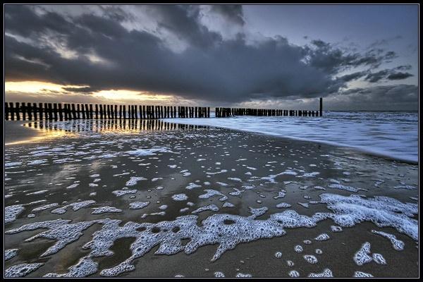 A Walk at the Beach by Elisabeth