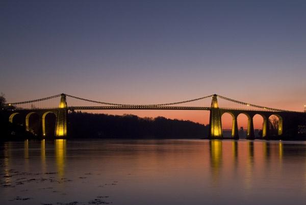 Menai Bridge by alastairwilson