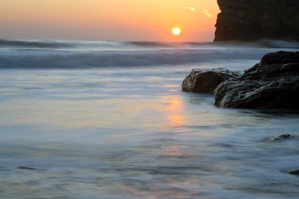 Sunrise at Marsden by mpphotographics