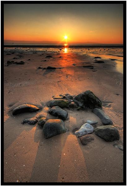 Sunset Rocks by MarkBroughton