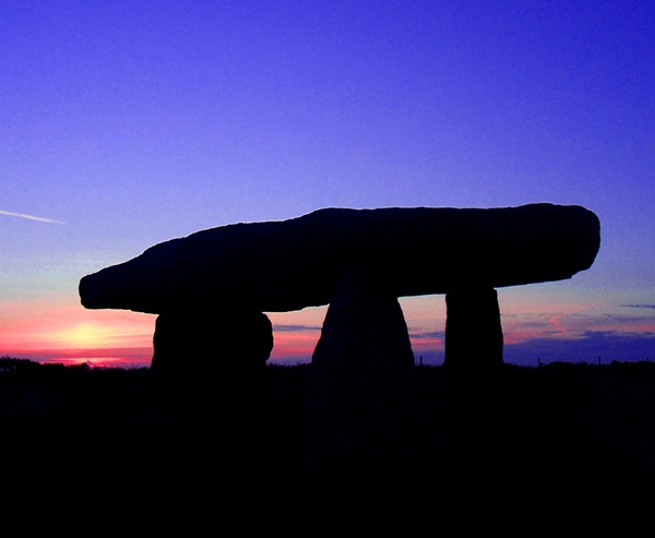 Neolithic Sunset by pixee