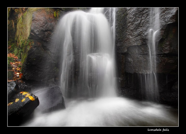 Lumsdale falls by NEWMANP