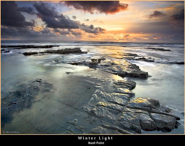 Winter Light at Nash Point by Mari