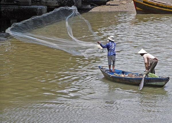 Fisherman of Phan Thiet Vietnam by brian.beckett
