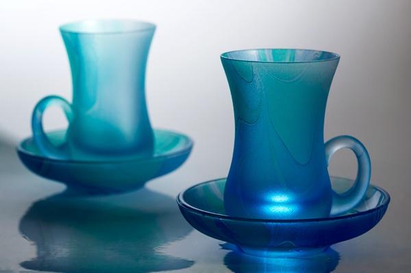 Blue Cups by RoyBoy