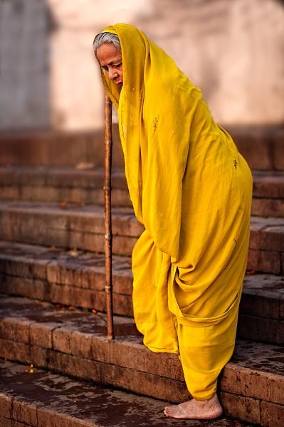 Varanasi Pilgrim by Henchard