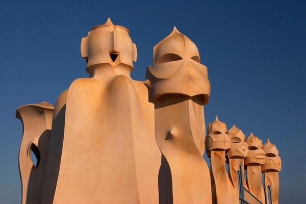 Gaudi\'s Sculptures by conrad
