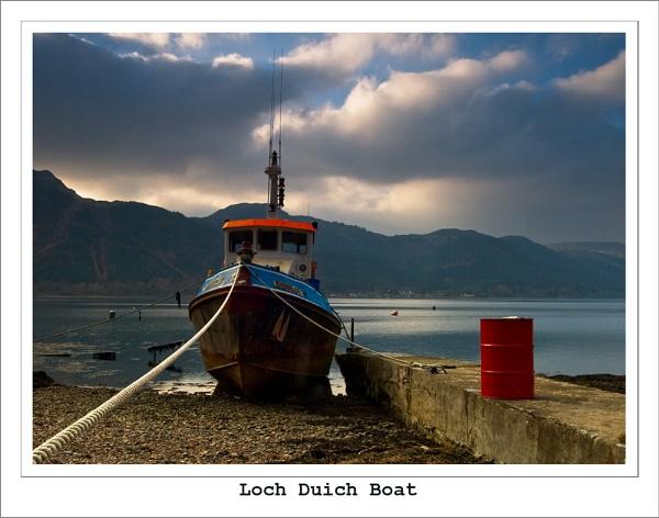 Loch Duich Boat by Sue_R