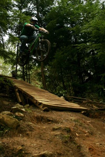 30ft drop biking by phil_24