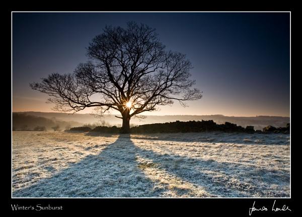 Winter\'s Sunburst by jameslovell71
