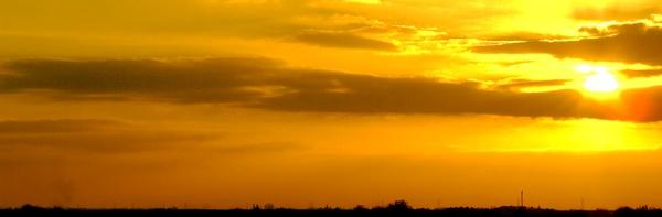 Fenland Sunset by billspencer31