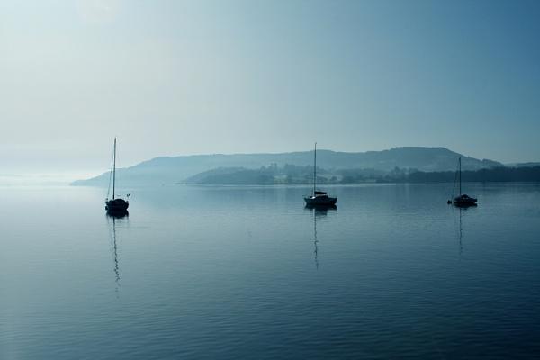 Across The Lake by Bradfleet12