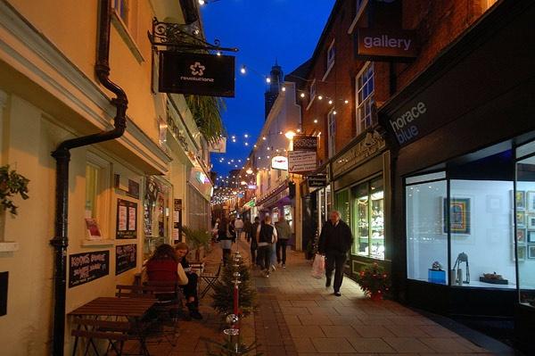 Norwich Street Scene. by BillM