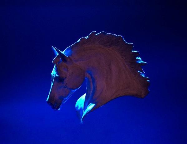 Bronze Pegasus by Scutter