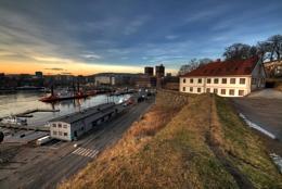 Evening in Oslo
