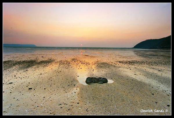Oxwich Sands II by Sheff