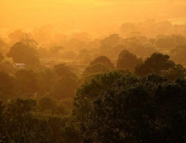 Sun-set solitude by Firebaby