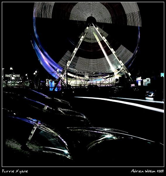 Ferris Nights by ade_mcfade
