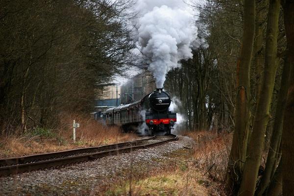 full steam ahead by rogerbarker