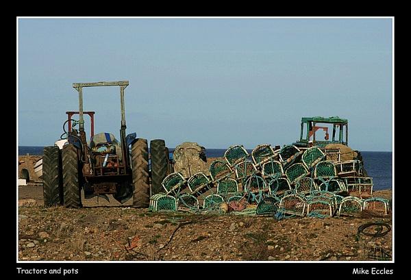 Tractors and pots by oldgreyheron