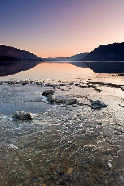 Ullswater Ice by bazhutton