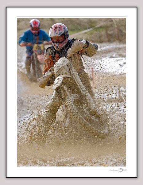 Wheelie Muddy by garysphotos