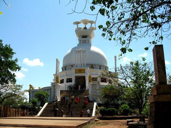 Buddist Stupa by Nabs